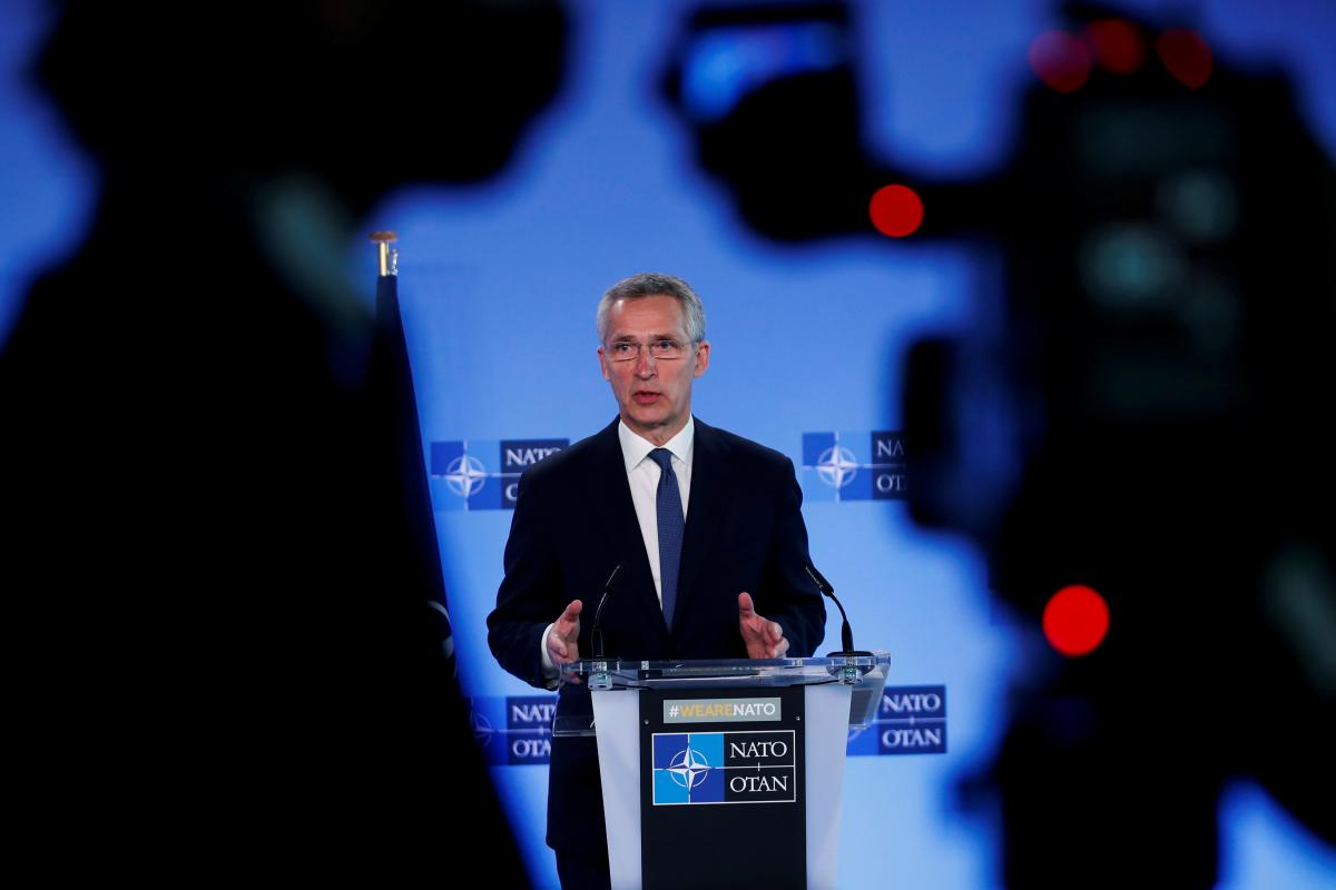 Столтенберг рассказал о поддержке Украины со стороны НАТО / фото REUTERS
