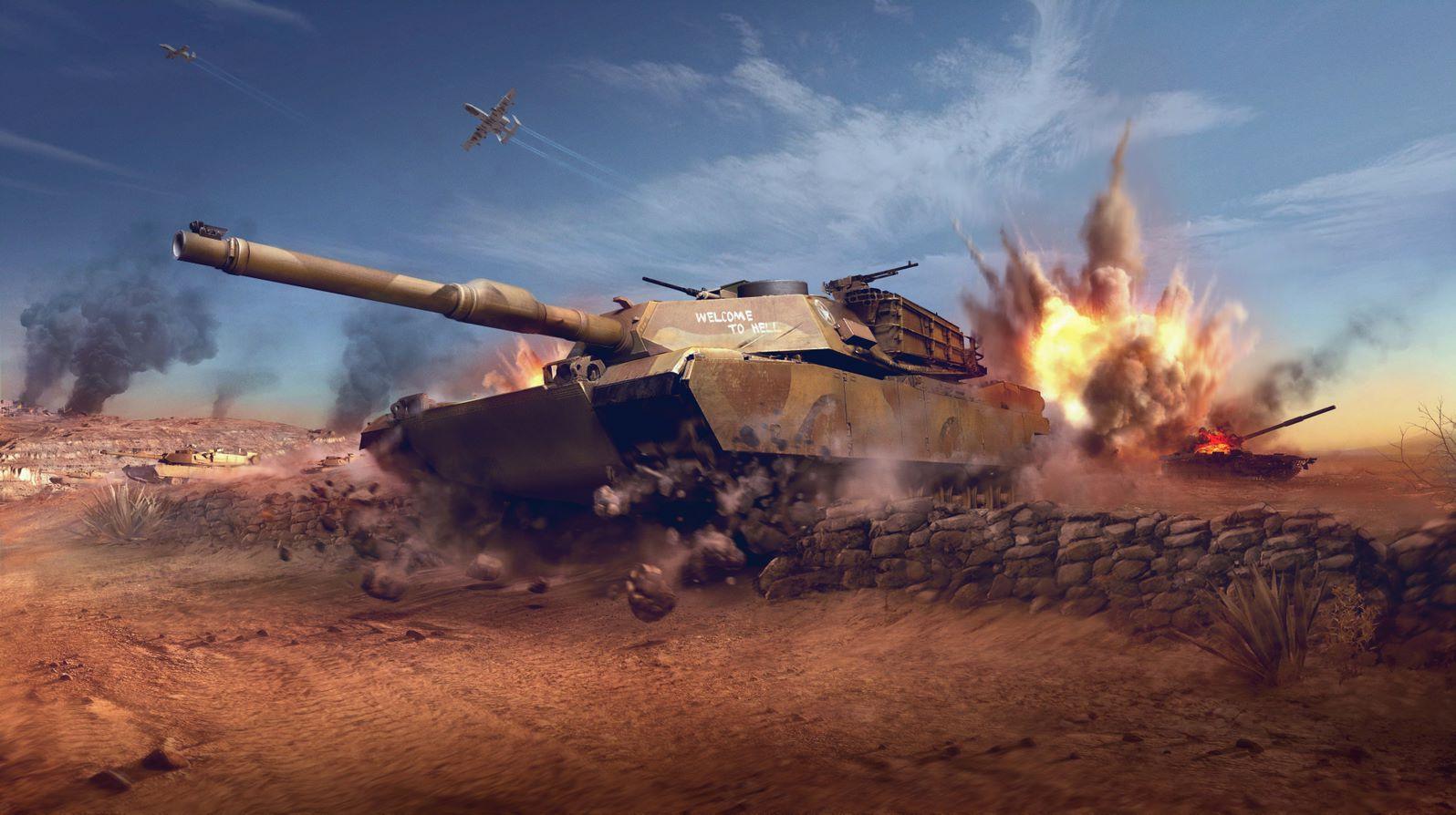 Современные танки в консольной версии WoT/фото wargaming.net