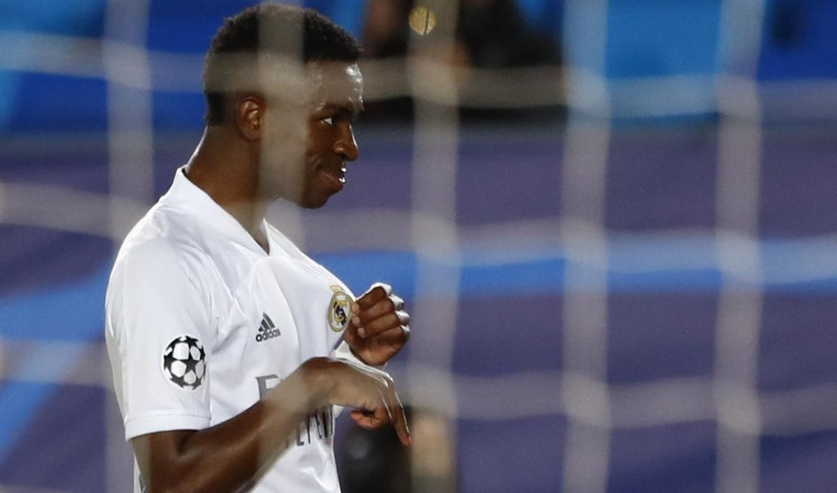 Вінісіус Жуніор забив два голи в першій грі / фото REUTERS