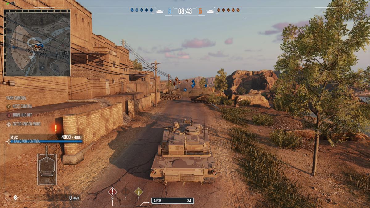 Танк M1A2 Abrams /фото wargaming.net