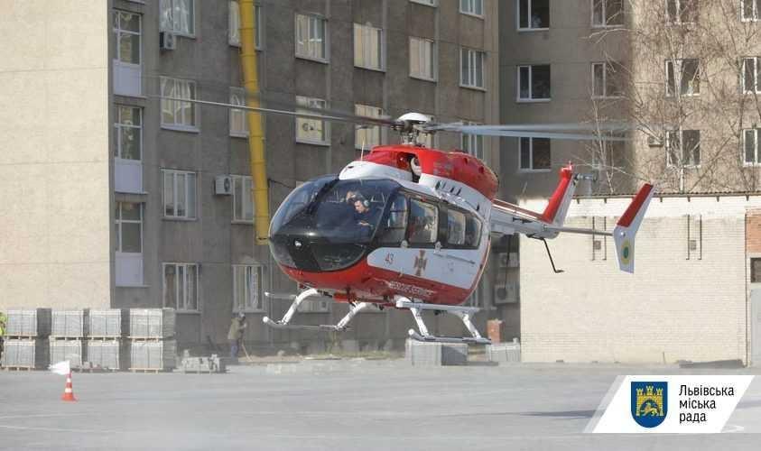 На вертольоті, який базується у Львові, завжди буде лише львівська бригада / фото ЛМР