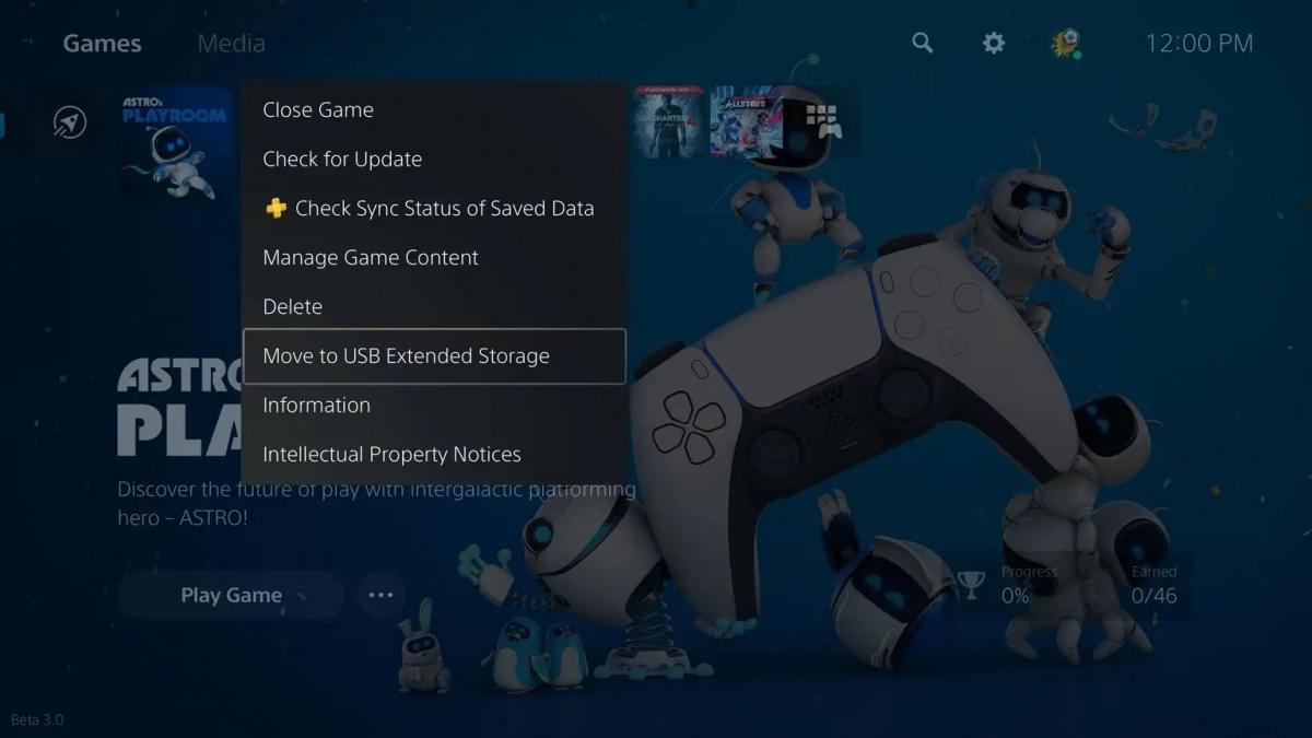 Ігри з PS5 тепер можна копіювати на зовнішній USB-накопичувач / фото blog.playstation.com