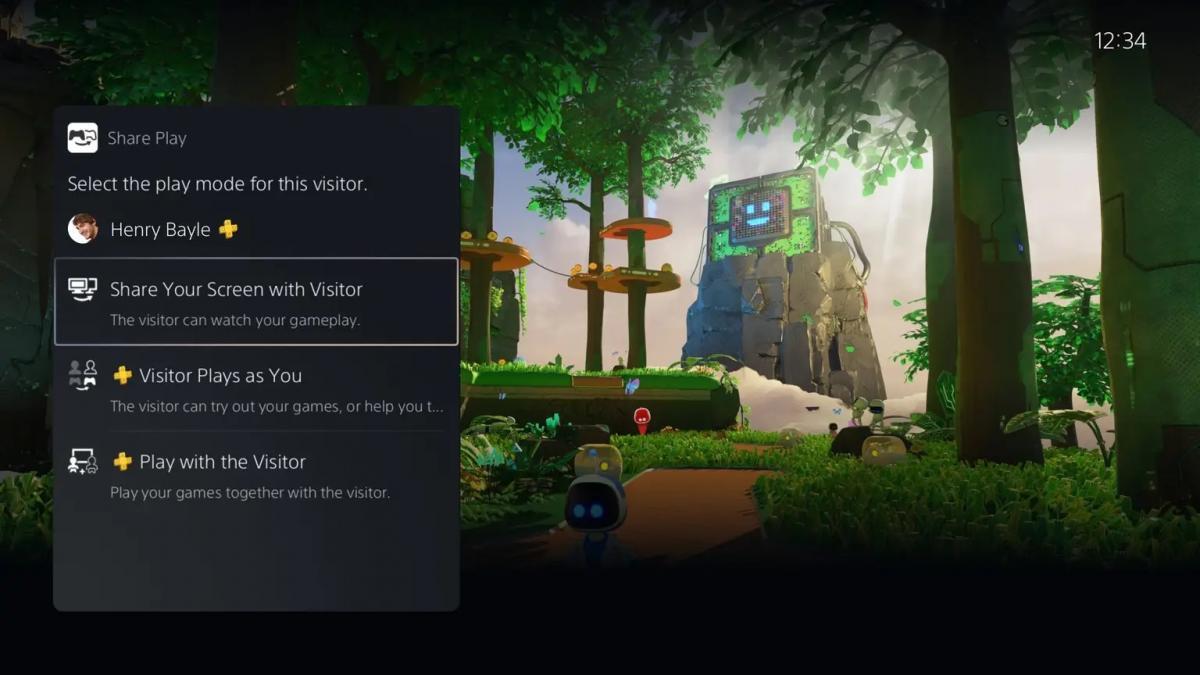 Покращена функція Share Play на PS5 / фото blog.playstation.com