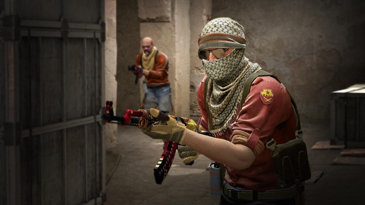 Кадр з гри CS: GO / скріншот