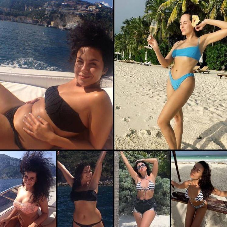 Звезда призналась, что стеснялась показывать такие фото / instagram.com/kamenskux/