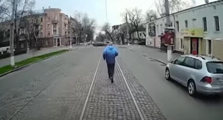 Инцидент попал на видео / Скриншот