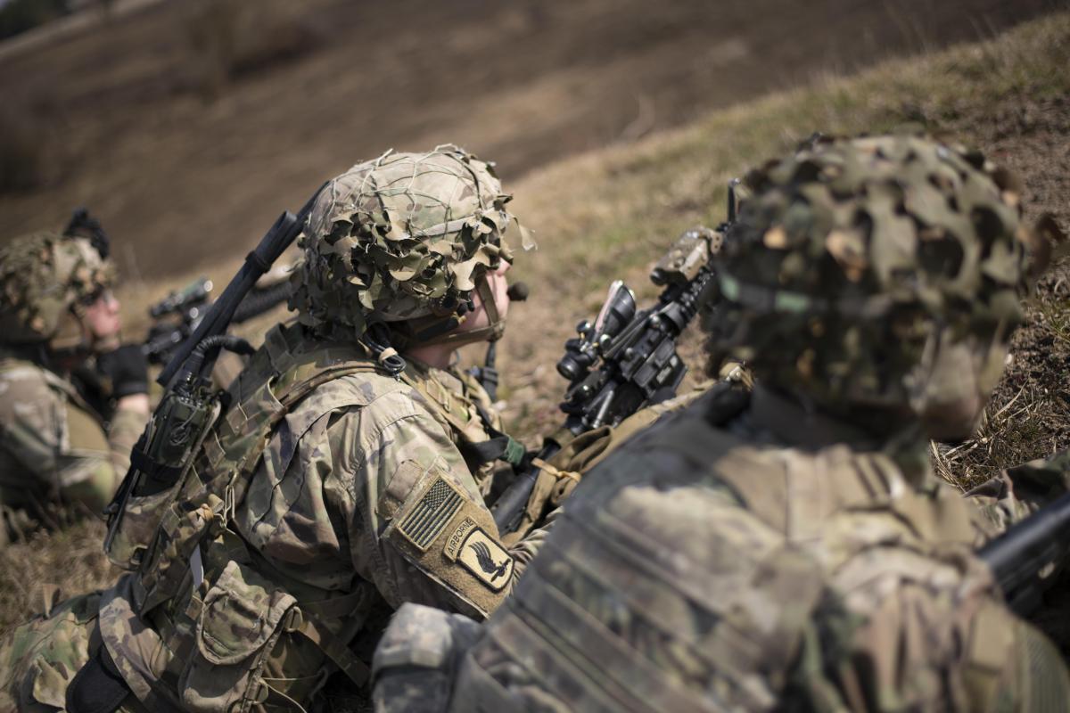 У навчаннях беруть участь багатовійськових США / фото defense.gov