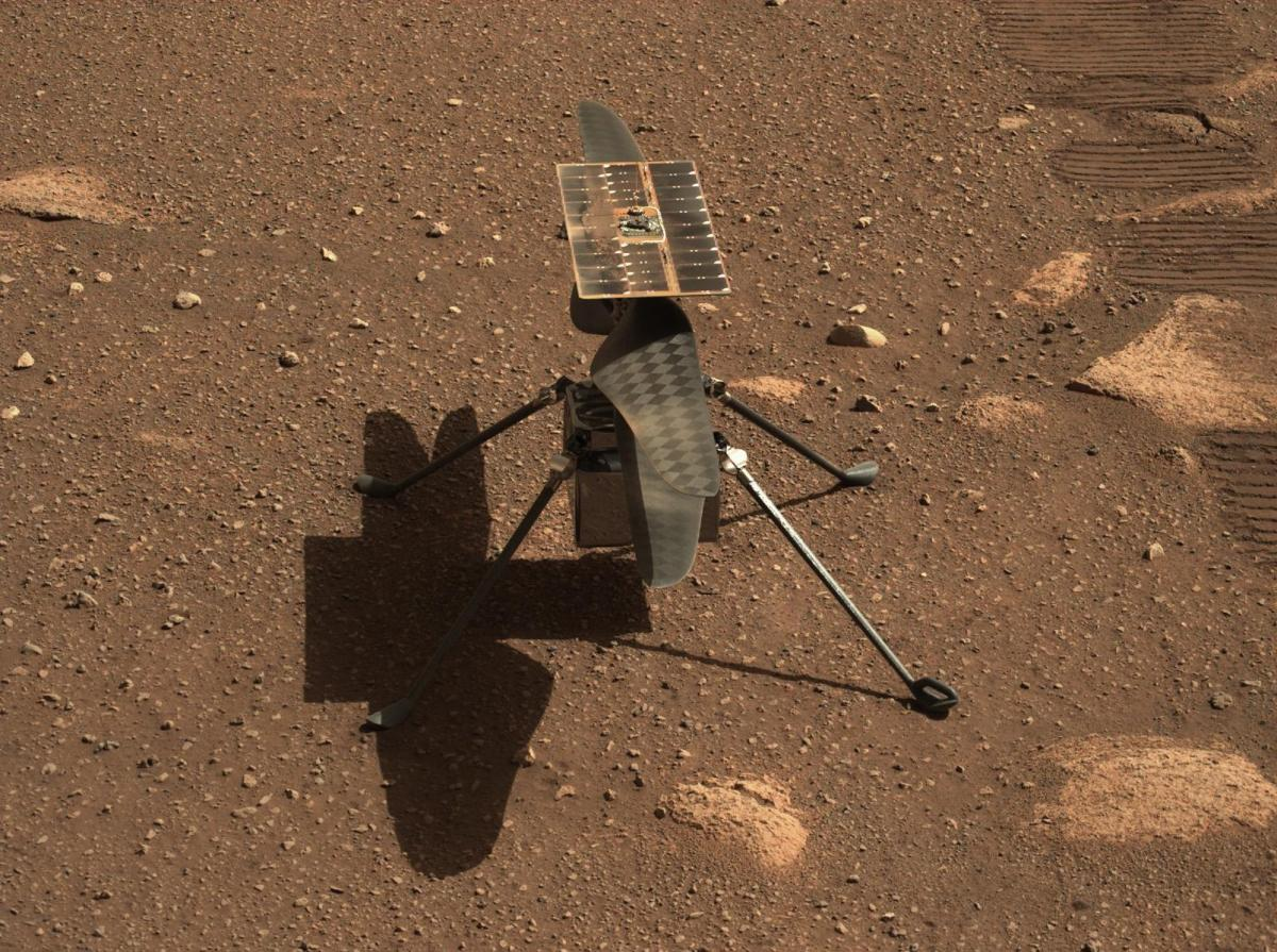 Ingenuity на Марсі - NASA вдруге відклало перший політ вертольоту на Марс / twitter.com/NASAJPL