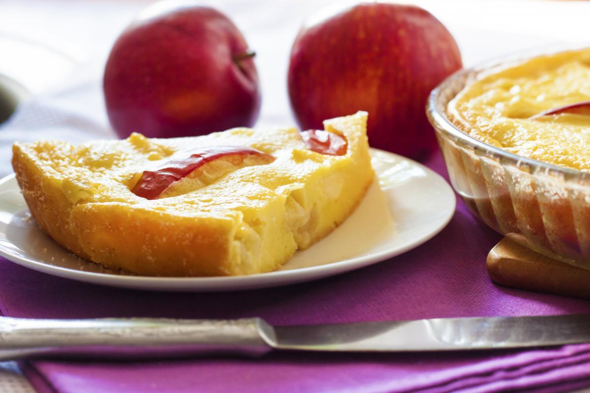 Рецепт творожной запеканки с яблоками / фото ua.depositphotos.com