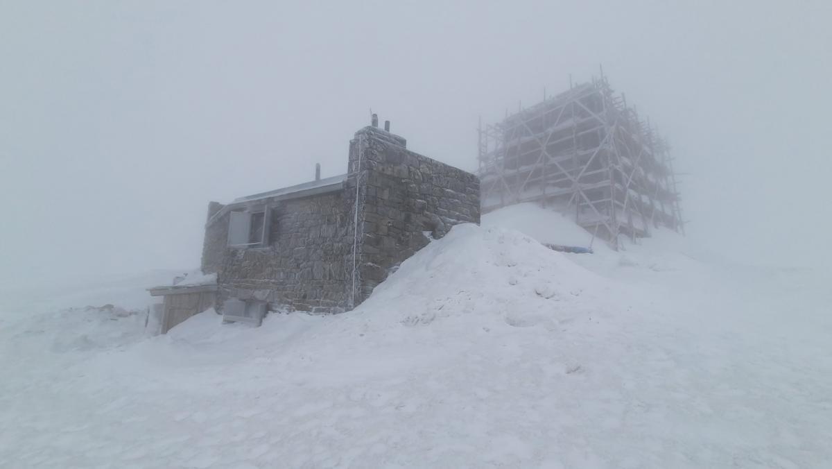 У горах знову снігопад / фото УНІАН