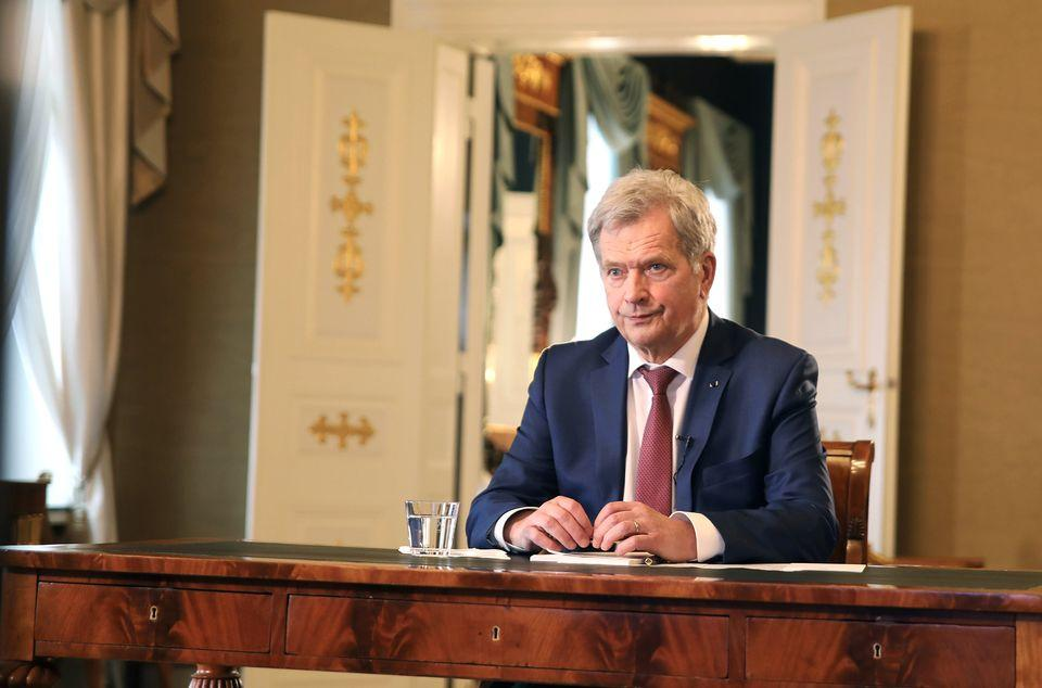 Президент Финляндии переживает за Украину / Фото: Riikka Hietajärvi / Tasavallan presidentin kanslia
