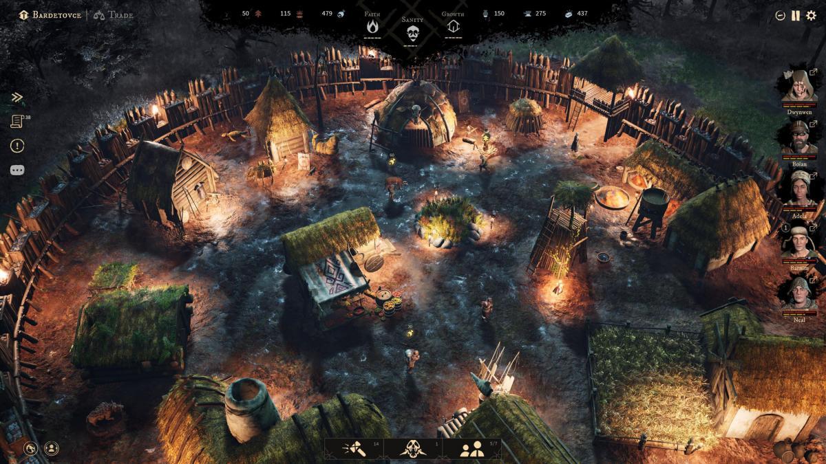 Поселение в Gord /скриншот