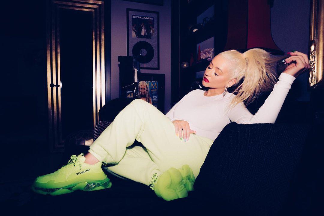 Певица восхитила сеть / instagram.com/xtina
