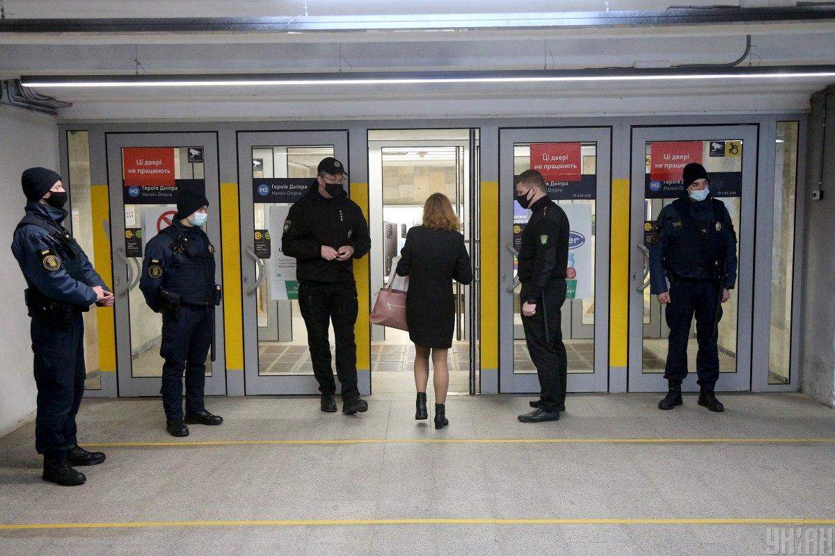 За период пребывания Киева в «красной» зоне полицейские составили более 10,5 тыс. админпротоколов за нарушение карантина / фото УНИАН, Ковальчук Виктор