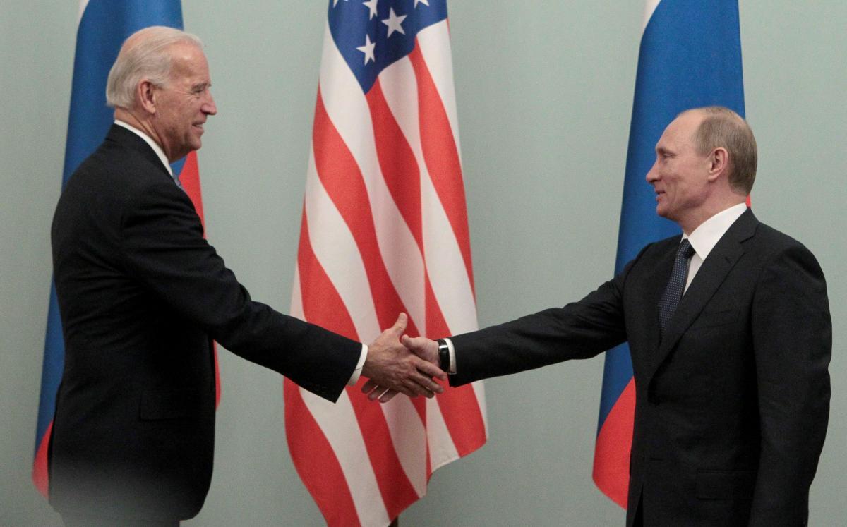 Байден и Путин могут встретиться в Праге / фото REUTERS