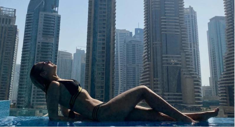 Модель рассказала о скандальной фотосессии в Дубае / фото mash.ru
