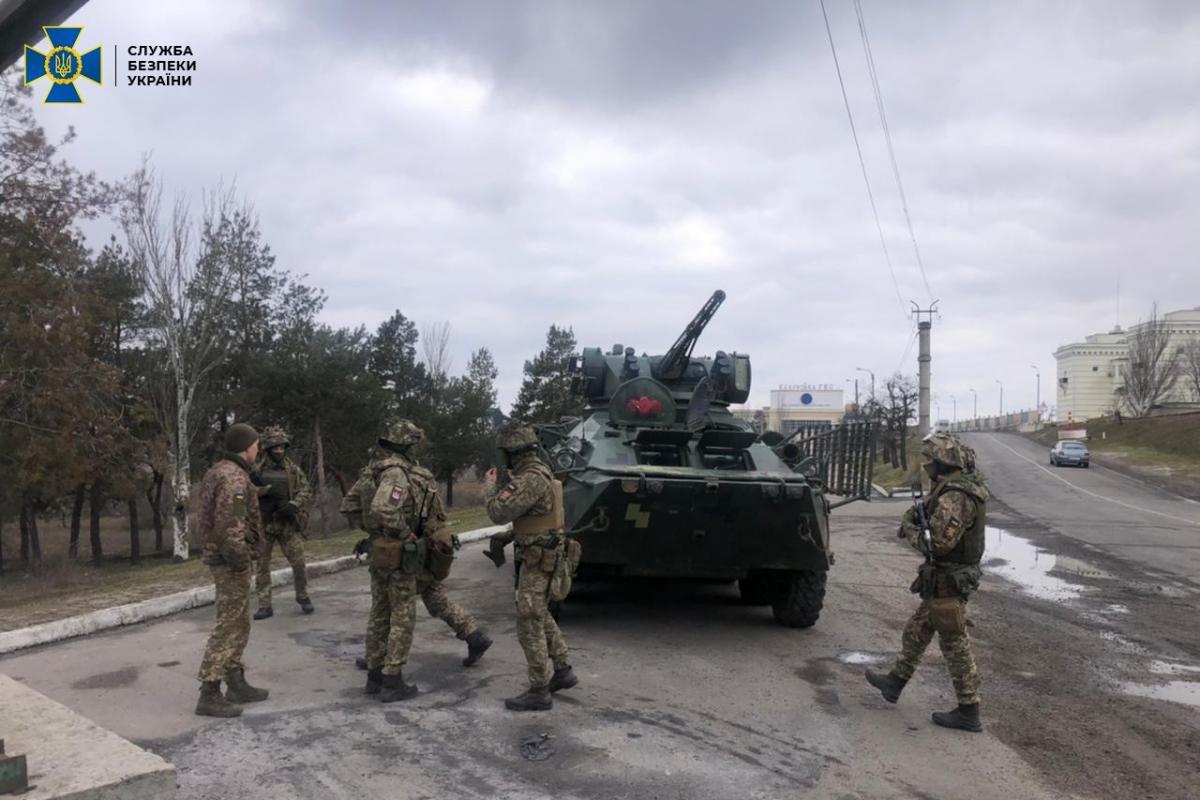 СБУ проведет антитеррористические учения / фото: СБУ