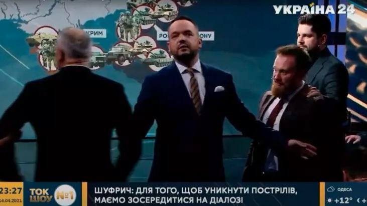 Шуфрич та Камельчук ледь не побилися в прямому ефірі після слів про Путіна / ukraina24.segodnya.ua