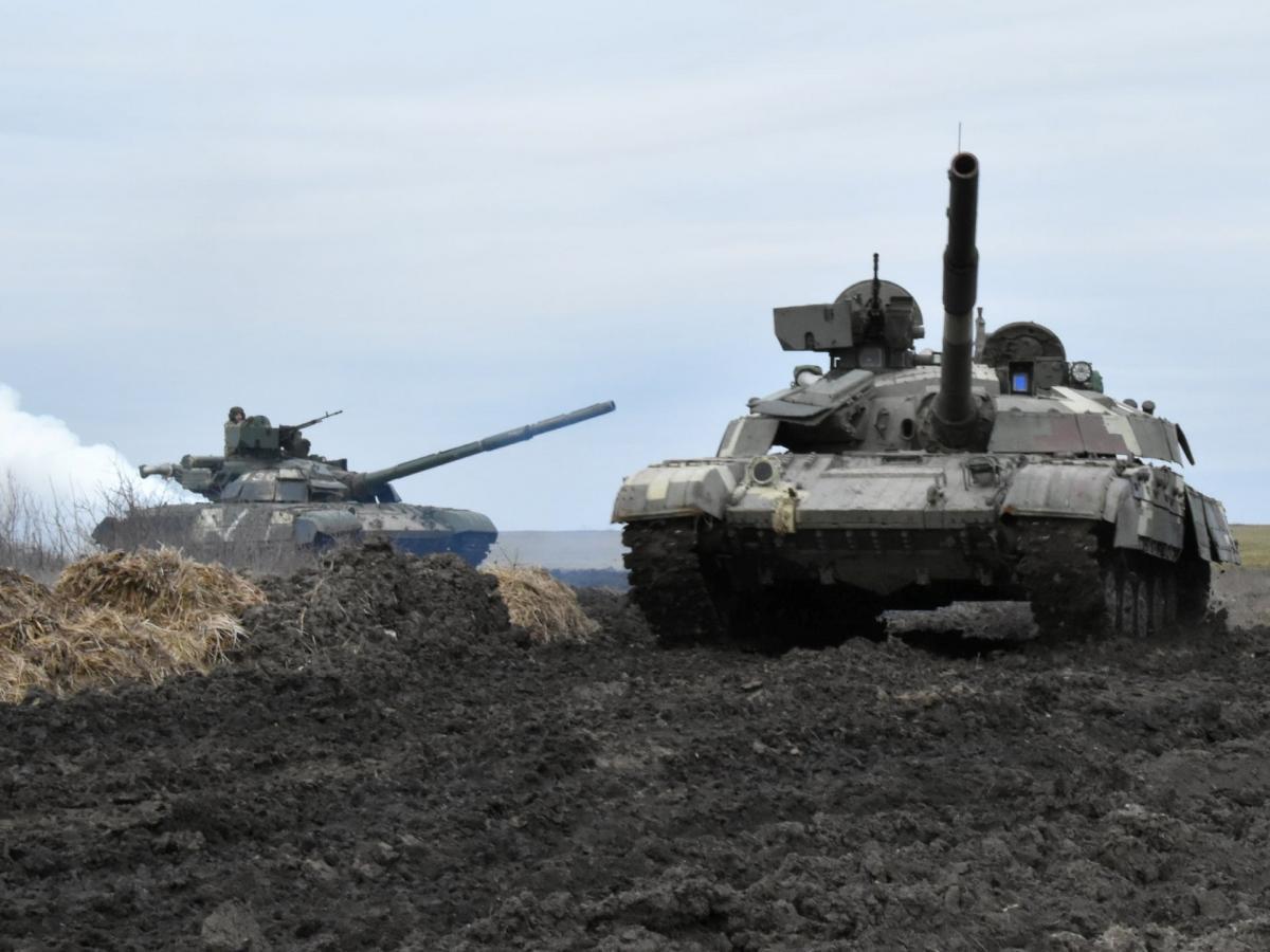 Боевых потерь среди украинских военных нет / REUTERS