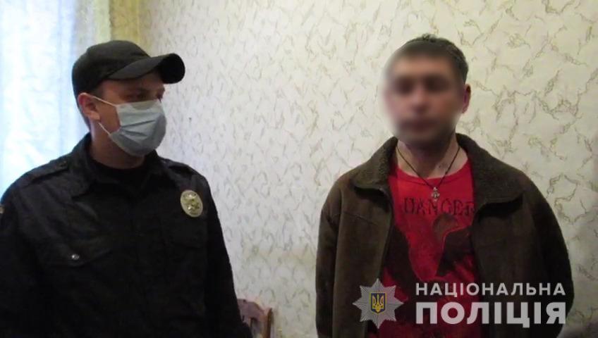 Після скоєного чоловік намагався втекти/ фото ГУ НП у Сумській області