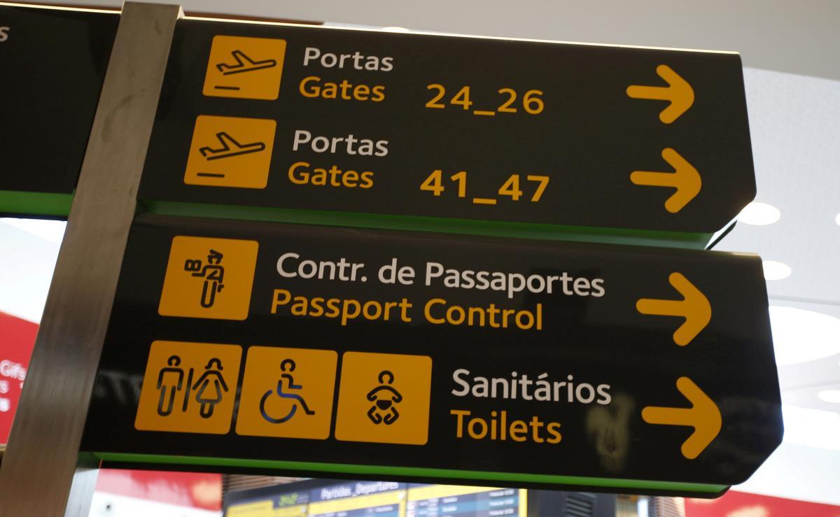Аэропорт Лиссабона перейдет под контроль PSP / фото REUTERS
