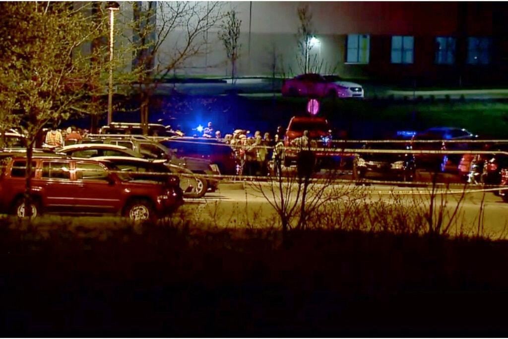 Стрельба в Индианаполисе / фото nytimes.com
