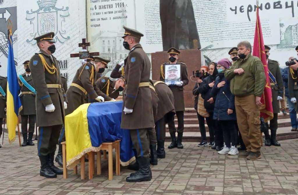 Військовий Олексій Мамчій загинув в зоні ООС 13 квітня / фото УНІАН