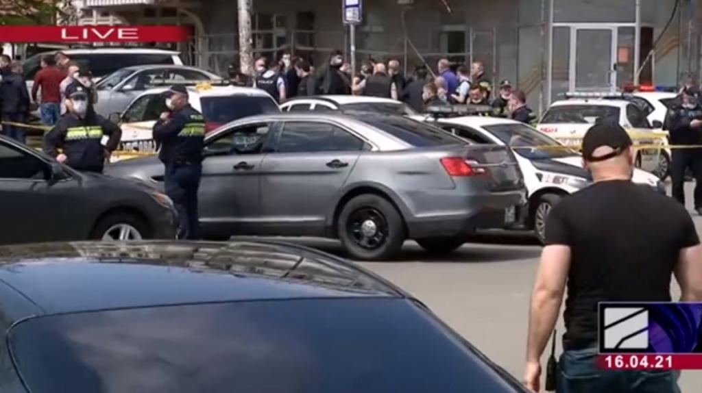 Захоплення заручників у Тбілісі / фото rustavi2.ge
