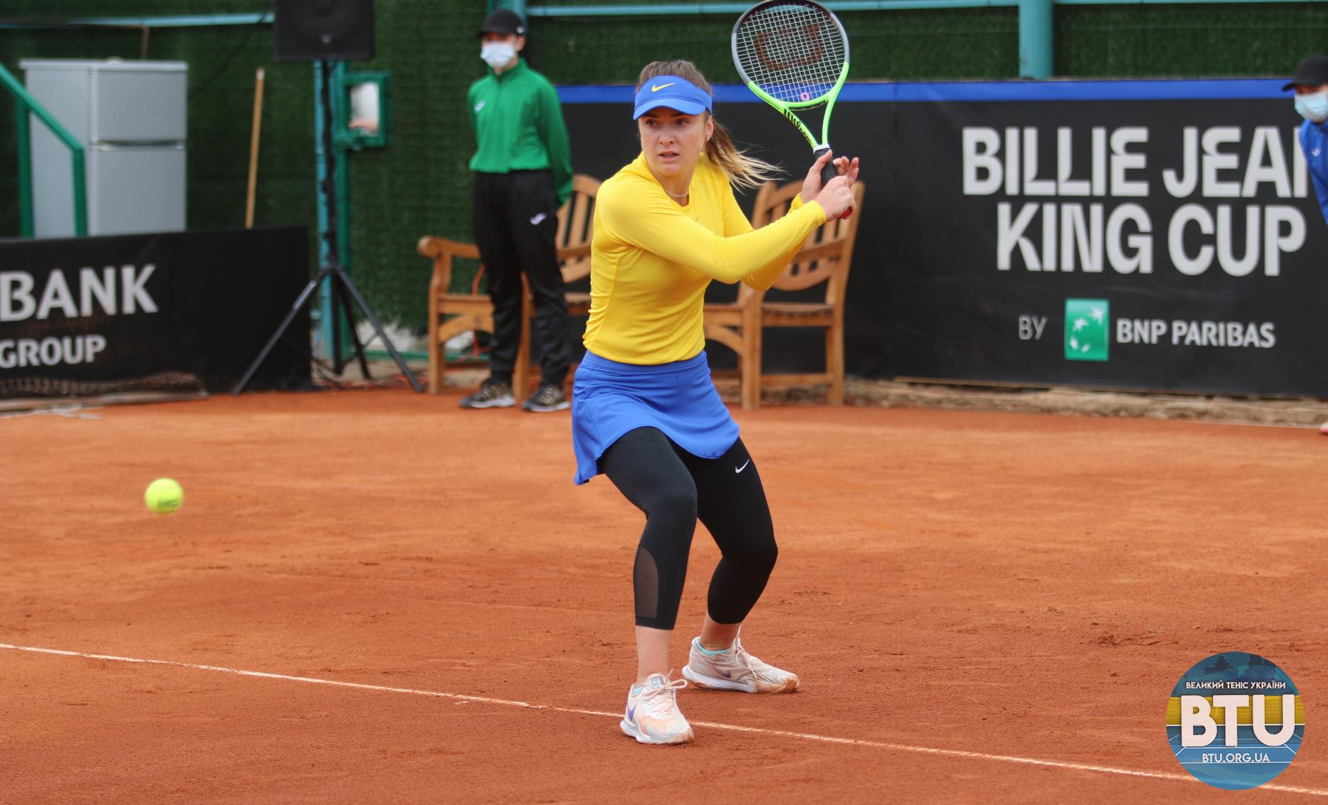 Еліна Світоліна впоралася з суперницею за 80 хвилин / фото btu.org.ua