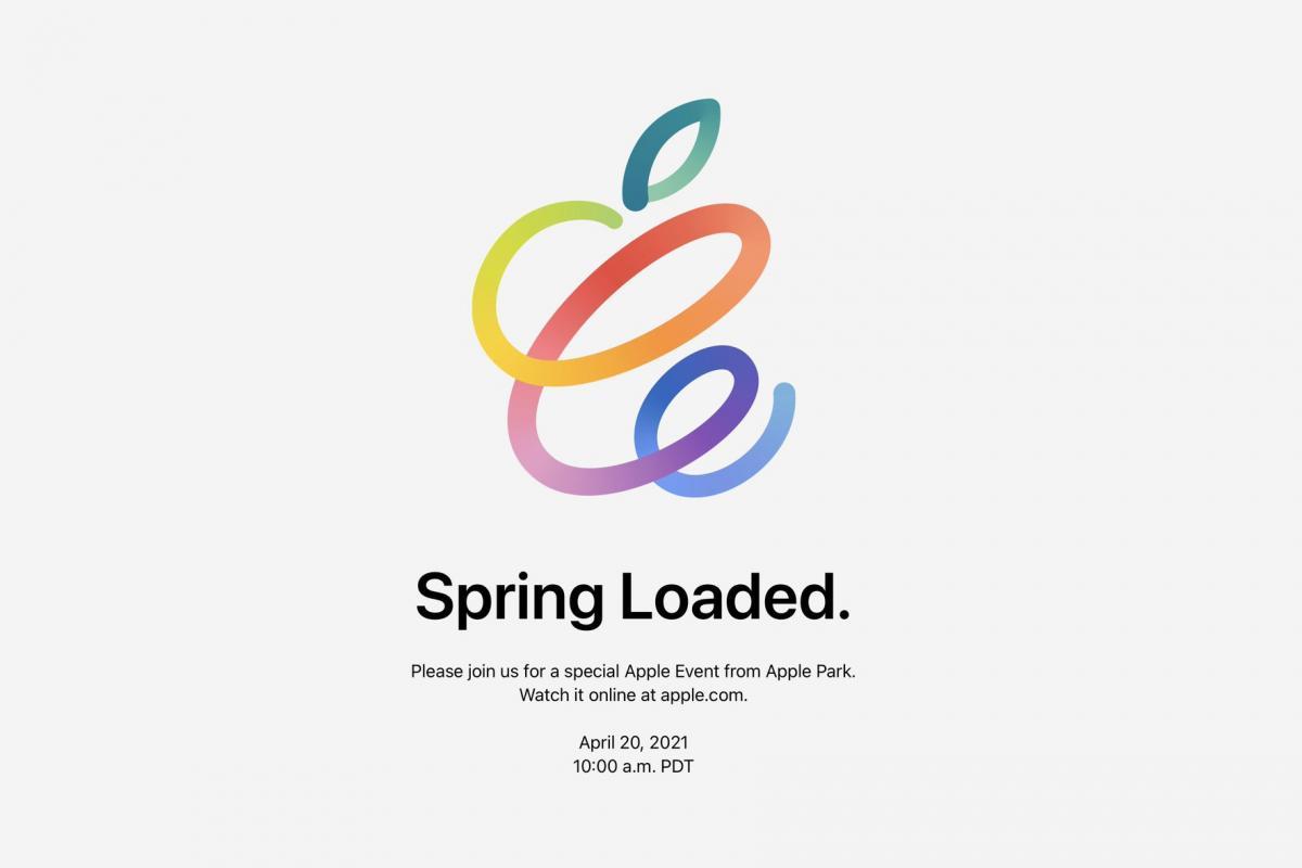 Весенняя презентация Apple 2021 / фотоApple