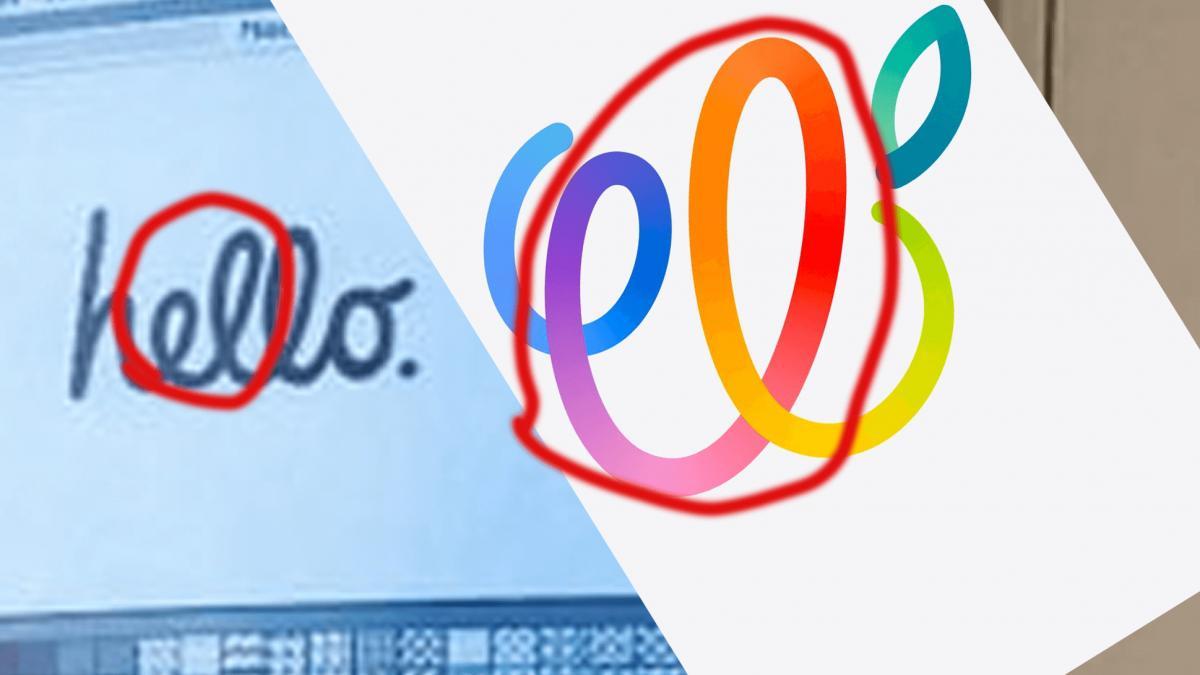Сходство экрана iMac и логотипа события / фото appleinsider.ru