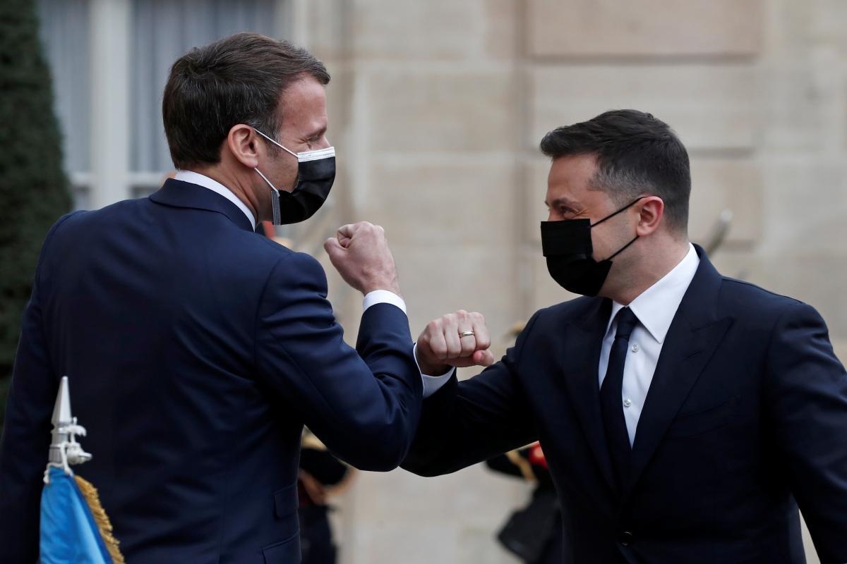 Зеленский прибыл в Париж / фото REUTERS