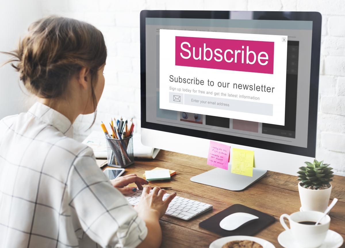 Багато підписокна електронні розсилки підключаються автоматично / фото ua.depositphotos.com