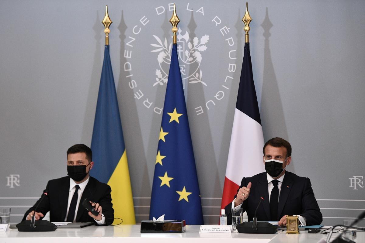 Зеленский встретился с Макроном / фото REUTERS