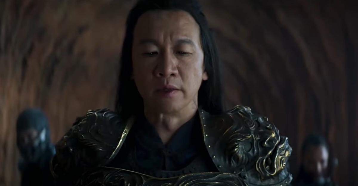 Шанг Цунг в исполнении Чинь Ханя /скриншот из трейлера
