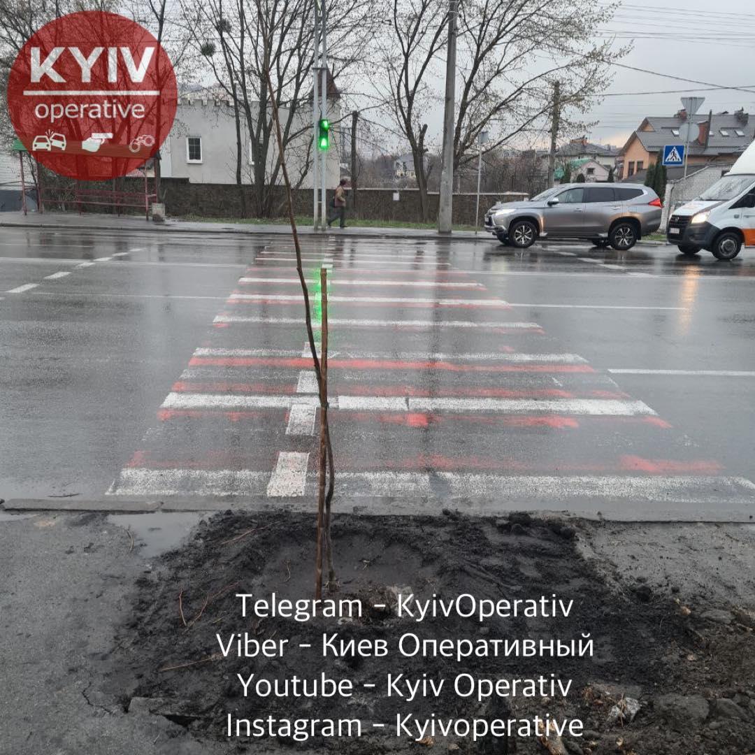 Переход на Отрадном проспекте / Киев Оперативный Facebook