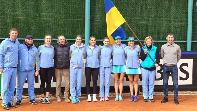Жіноча збірна України з тенісу / фото sport.ua