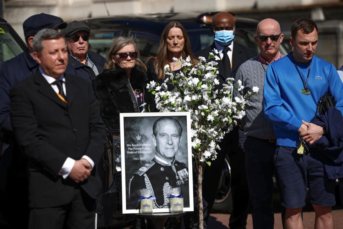 17 квітня пройшли похорони принца Філіпа / фото REUTERS