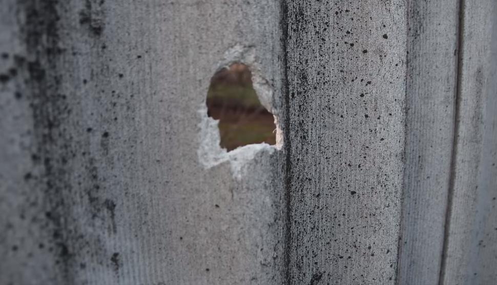 Местные жители в результате обстрела не пострадали / скриншот