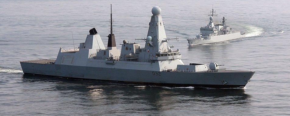 Британия направит в Черное море военные корабли / фото royalnavy.mod.uk