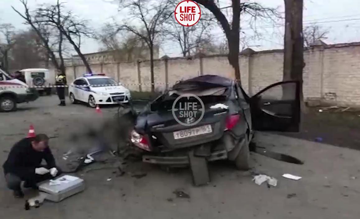 У Росії підлітки загинули в ДТП / скріншот з відео