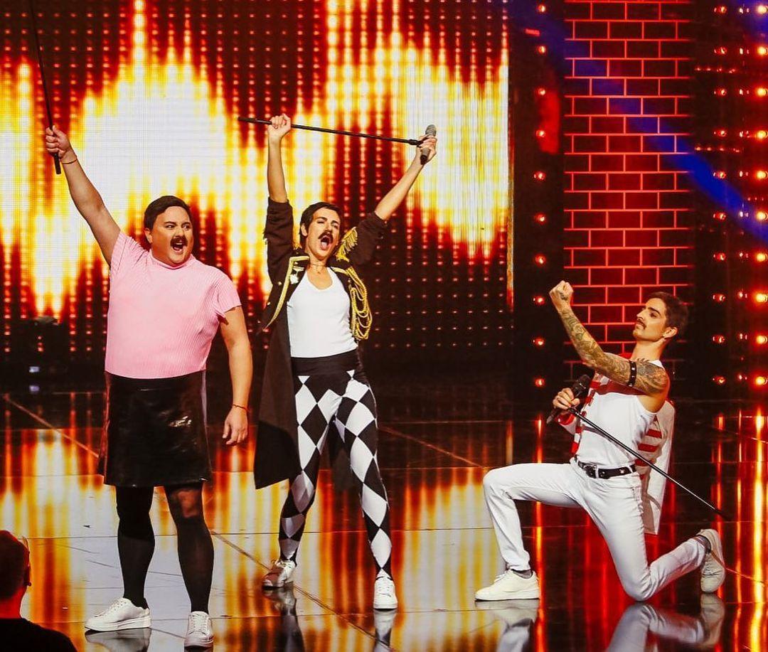 Дантес виграв у шоу / instagram.com/lipsyncbattle_ua