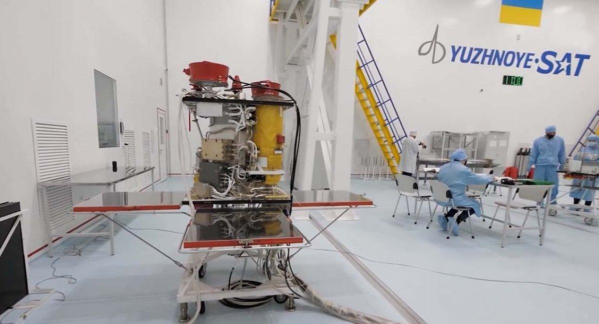 Украинский спутник Січ 2-30 должны запустить в космос до конца этого года / defence-ua.com