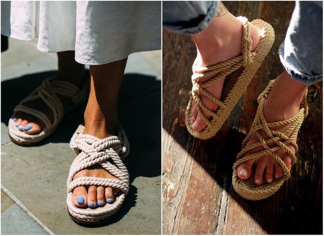 Модные сандалии 2021 / фото pinterest.com
