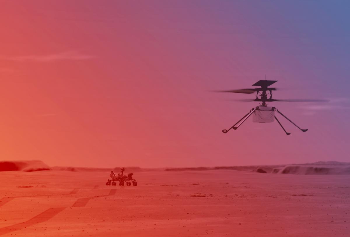 Это не первый рекорд дрона Ingenuity / фото - nasa.gov