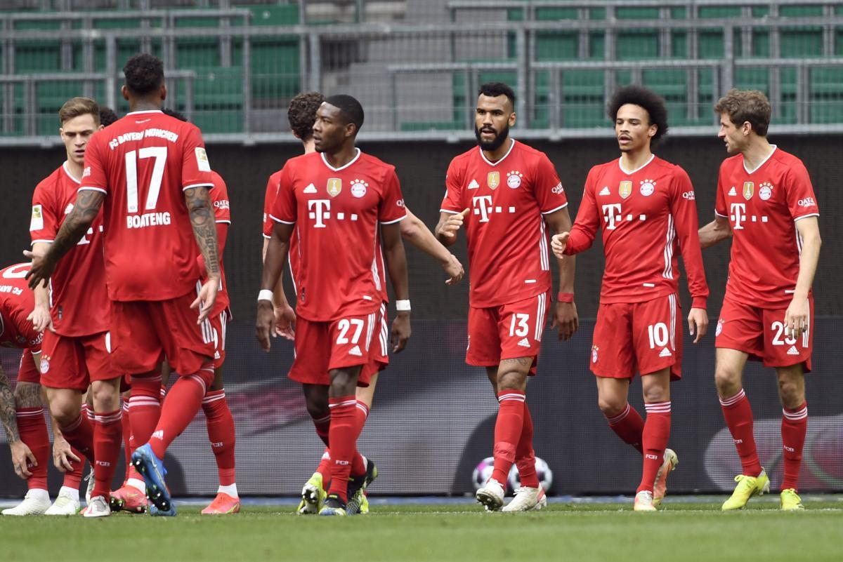 Гравці Баварії / фото REUTERS