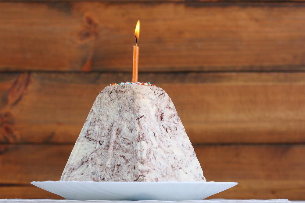 Сырная пасха с шоколадом рецепт / фото ua.depositphotos.com