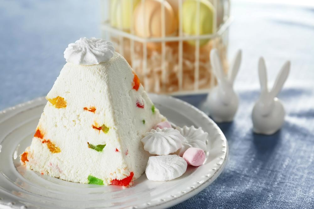 Сырная пасха с цукатами / фото ua.depositphotos.com