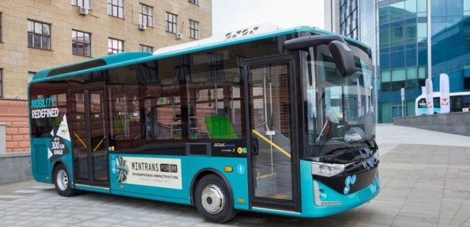 Автобус виробництва турецької Karsan
