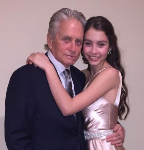 Дочери Майкла Дугласа исполнилось 18 лет / фото Майкл Дуглас, Instagram